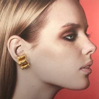 Modernist Pierre Cardin Clip-On Earrings Preview