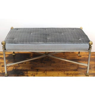 Final Call - Mid Century French Maison Jansen Bench or Ottoman Preview
