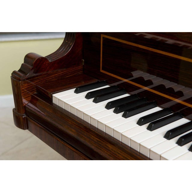 Rare and Historically Significant Marquetry Inlaid Grand Piano, Bösendorfer For Sale - Image 5 of 8