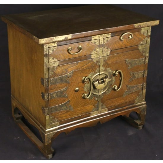 Petite Brass-Bound Chest - Image 2 of 4