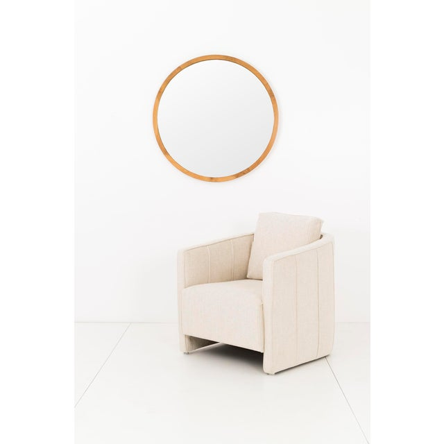 Mid-Century Modern Gilbert Rohde Mirror For Sale - Image 3 of 6