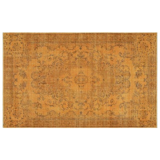 1960s Turkish Rug- 5′4″ × 8′7″ For Sale
