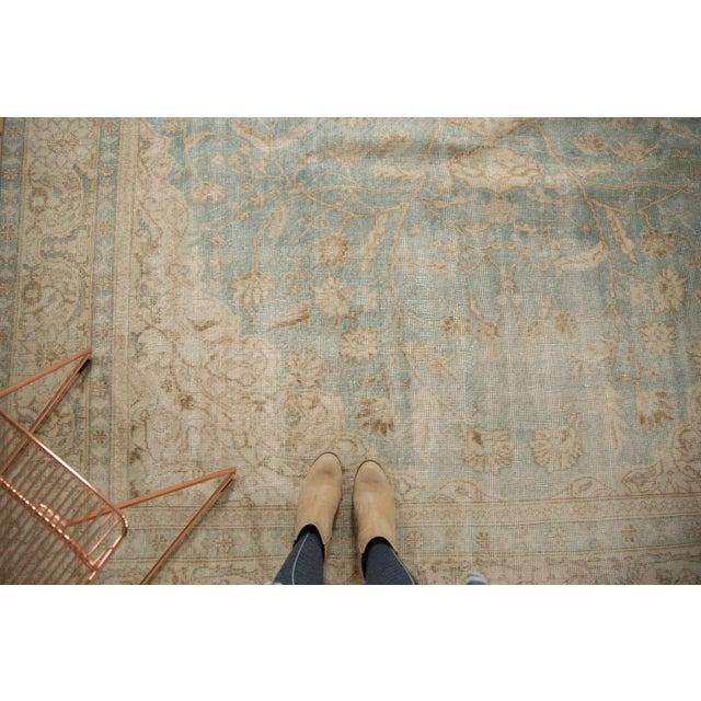 """Textile Vintage Distressed Sivas Carpet - 8'7"""" X 11'1"""" For Sale - Image 7 of 12"""