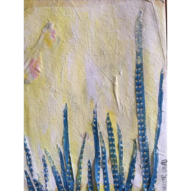 """""""Pattern Play"""" Mixed Media Painting - Image 5 of 6"""