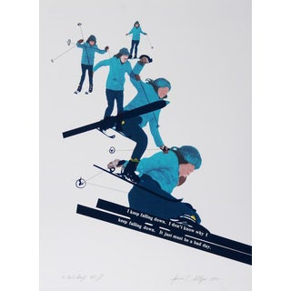 """Joanne Seltzer, """"A Bad Day,"""" Lithograph For Sale"""
