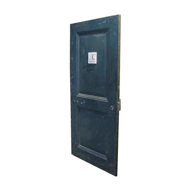 Reclaimed Metal Two Panel Fire Door - Image 2 of 5