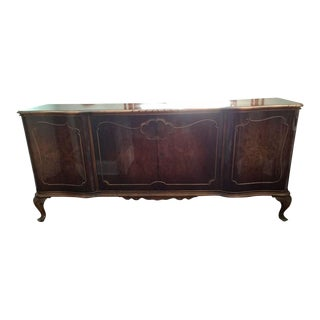 French Louis XV Antique Sideboard Buffet