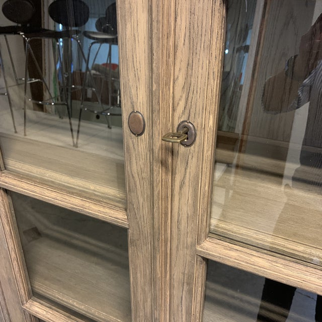 Transitional New Custom Design Wallace Display Cabinet For Sale - Image 3 of 12