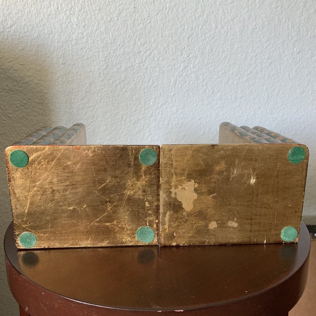 Traditional Italian Faux Book Bookends - a Pair For Sale - Image 9 of 10