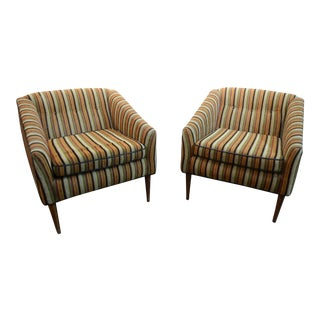 Mid - Century Modern Chairs- a Pair For Sale