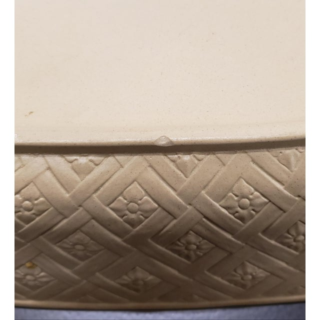 Early to Mid 19th Century English Wedgwood Caneware Game Pie Dish With Underplate - 2 Pieces For Sale - Image 10 of 13