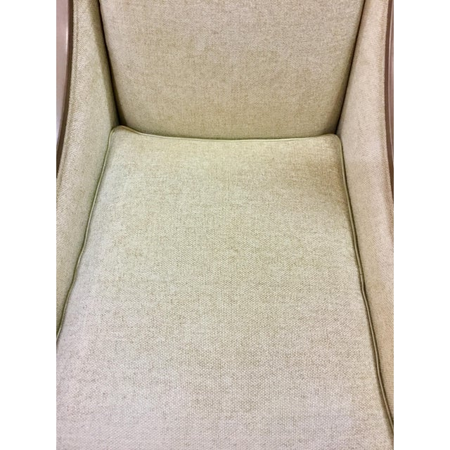 White Caracole Social Butterfly Club Chairs - A Pair For Sale - Image 8 of 11