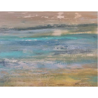 Original Abstract Contemporary Landscape Painting For Sale