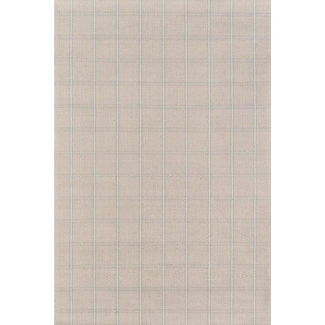 Erin Gates Marlborough Dover Beige Hand Woven Wool Area Rug 2' X 3' For Sale
