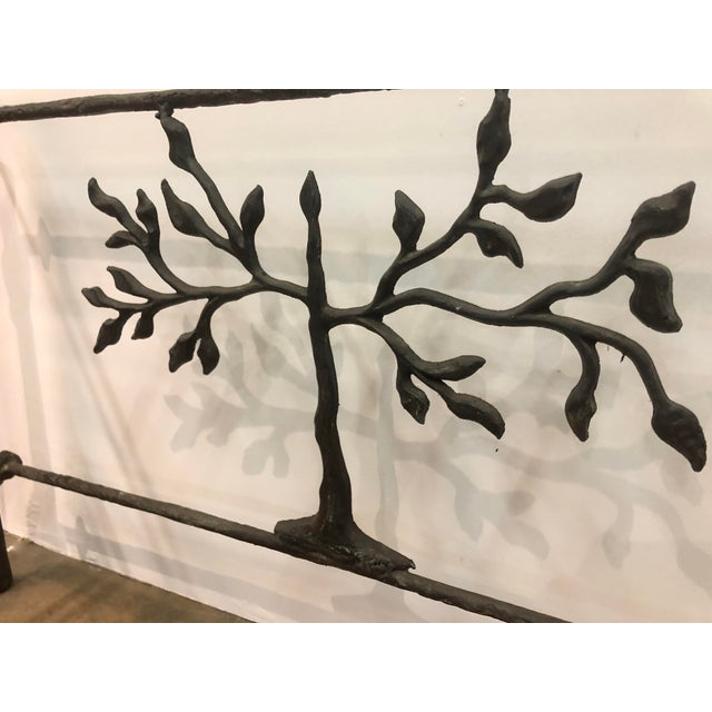 Giacometti Style Studio Made Console Table For Sale In San Francisco - Image 6 of 7
