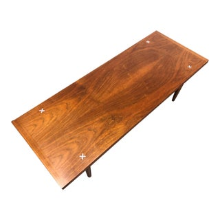 Merton Gershun for American of Martinsville Mid-Century Modern Coffee Table For Sale