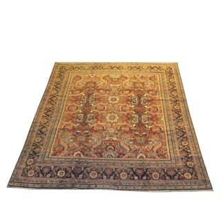 "Persian Mahal Rug - 12'2"" x 10'8"" For Sale"