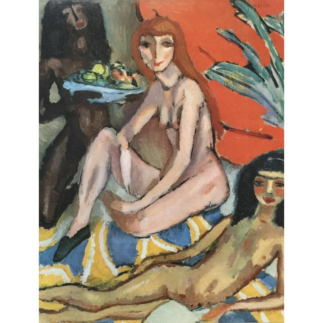 Artist: Jules Pascin (b. March 31, 1885, d. June 5, 1930) Medium: color stone lithography (after the oil paintings) Size:...