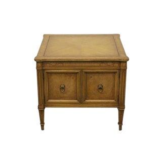20th Century Italian Weiman Capri Storage End Table For Sale