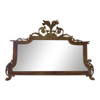 George II Overmantel Mirror, C. 1750 For Sale