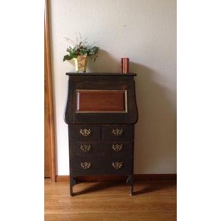 19th Century Arts and Craft Oak Secretary Desk Preview