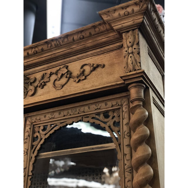 French 19th Century French Louis XIII Bibliotheque For Sale - Image 3 of 6