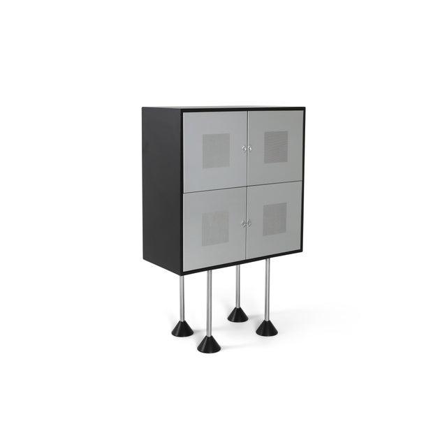1980s Pastoe Postmodern Memphis Style Cabinet by Gerard Van Den Berg For Sale - Image 12 of 12