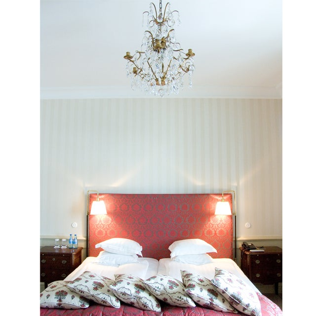 Baroque Six-Light Chandelier For Sale - Image 10 of 11