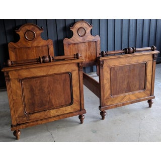 Exquisite Antique 19th C. French Beds, a Pair Preview