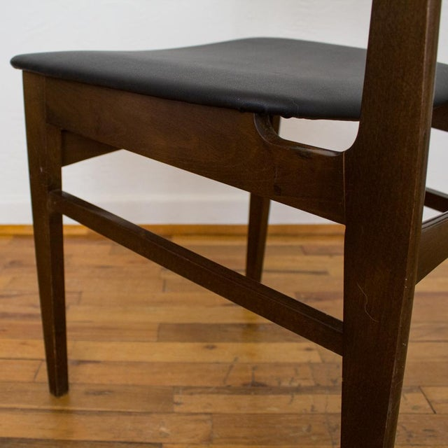 Brown Yugoslavia Mid-Century Dining Chair For Sale - Image 8 of 10