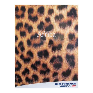2000s Original Air France Poster, Africa For Sale