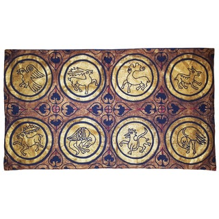 Fresco Sateen Linen Pillow Cover For Sale