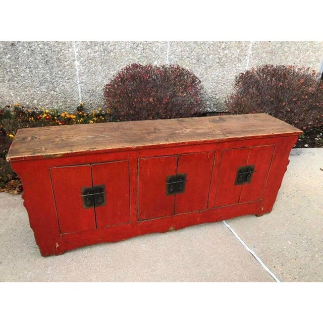1860's Chinese K'ang Cabinet For Sale In Chicago - Image 6 of 8