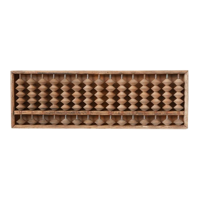 1940s Vintage Wooden Abacus For Sale