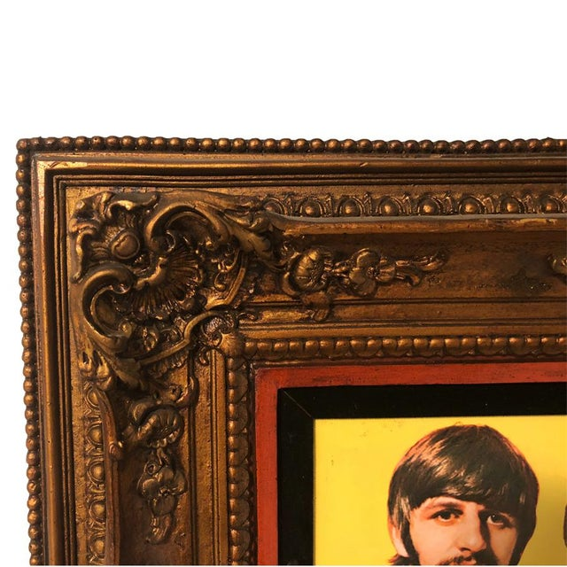 Large Antique Victorian Frame w/ Sgt Pepper's Lonely Heart's Club Band Print The perfect conversation piece for those who...