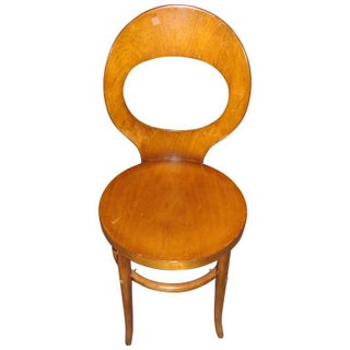 Art Deco Small Bentwood Sidechair For Sale