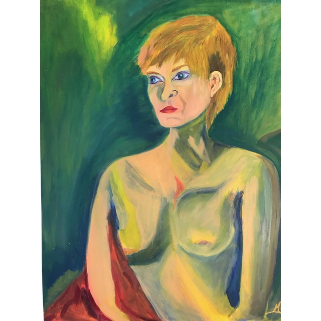 Contemporary Nude Woman Oil Painting For Sale