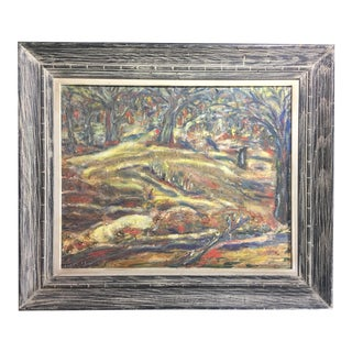 1957 C. Pepe Impressionist Oil Painting on Canvas