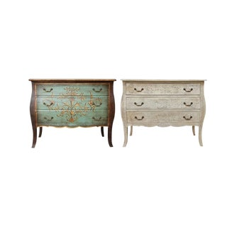 Dyana Three Drawer Chests - A Pair For Sale