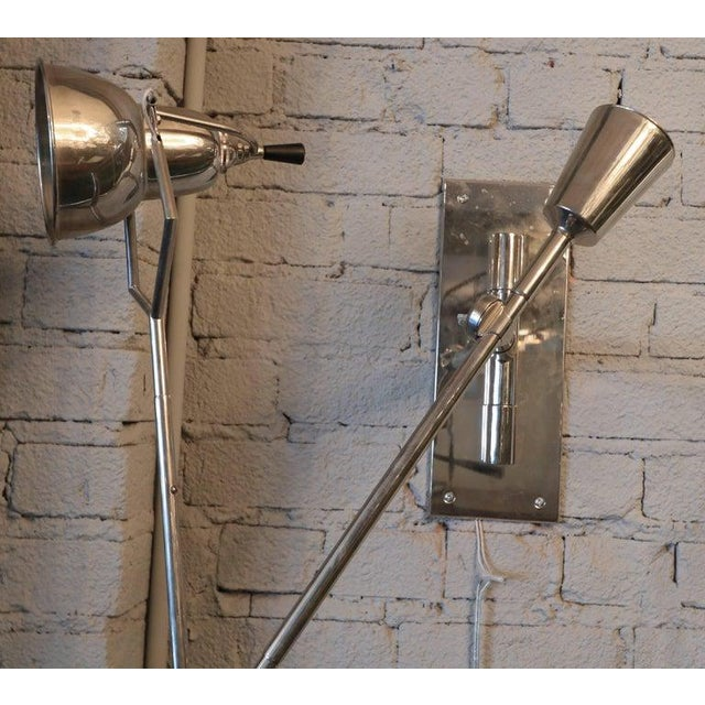 Édouard-Wilfred Buquet 1920's Wall Lamp by Edouard Buquet For Sale - Image 4 of 7