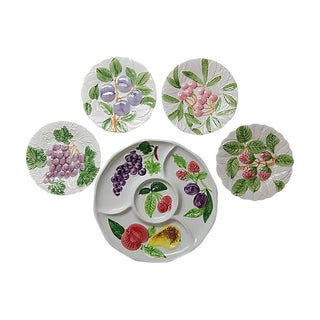 Fruit-Themed Serving Set - Set of 5