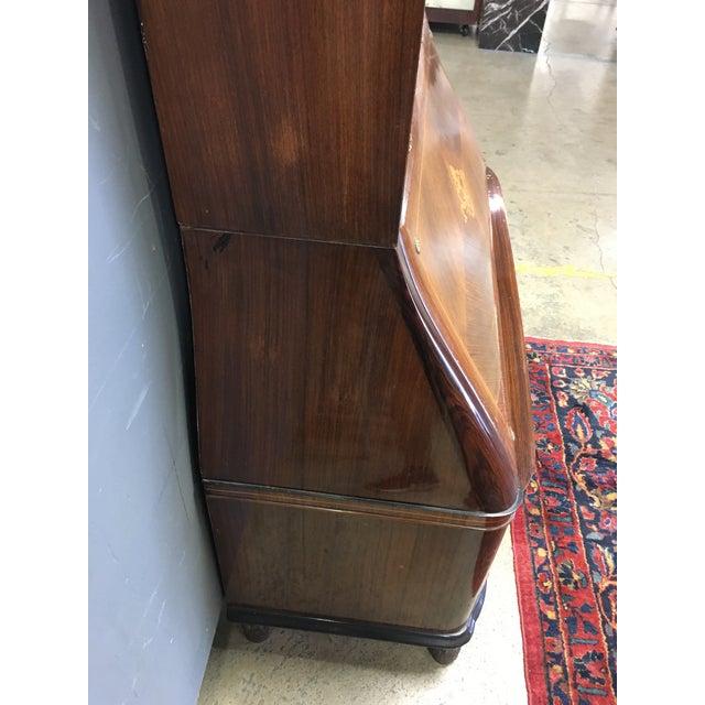 Paolo Buffa Italian Mahogany Secretary Desk For Sale - Image 9 of 13