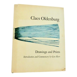 1960s Vintage Drawings and Prints Book by Claes Oldenburg For Sale