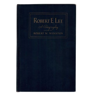 "1934 ""Robert E. Lee a Biography"" Collectible Book For Sale"