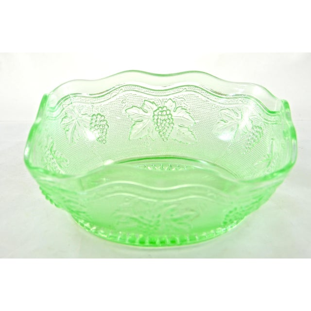 Green Grape Embossed Bowl - Image 2 of 4