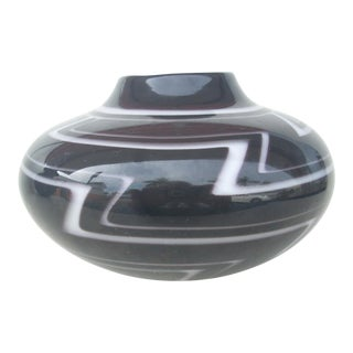 American Indian Glass Vase