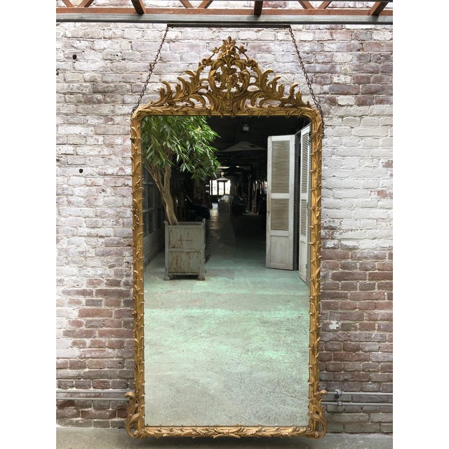 Spectacular French Mirror From the Early 19th Century For Sale - Image 11 of 11