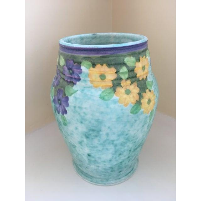 Early 1930's Art Nouveau Gorgeous E. Radford Vase Around 1930, perhaps earlier, Edward Radford established the Radford...