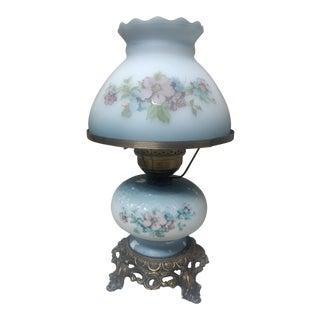 Vintage Brass Hurricane Lamp