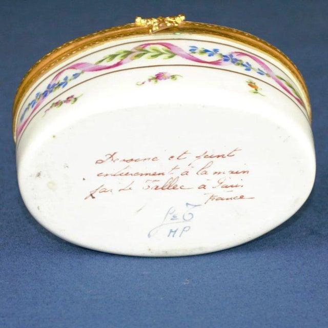 Mid-Century Modern Atelier LeTallec Porcelain Box For Sale - Image 3 of 8